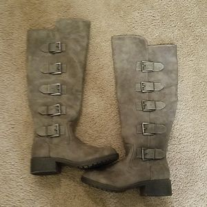 Madden girl buckle boots